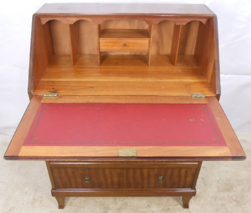 A Georgian Style Mahogany Writing Bureau - SOLD